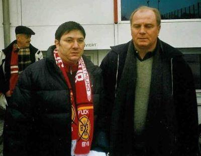 Enrico Fölsch und Uli Hoeneß